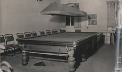 Mens club room circa 1950