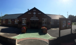Village Hall Frontage Panoramic resized